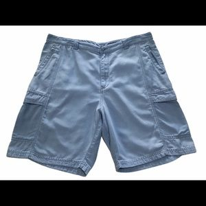 Tommy Bahama cargo shorts Sz 38 relax blue